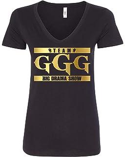 035819794e4501 Freedomtees Team GGG Big Drama Show Gennady Golovkin Women s T-Shirt