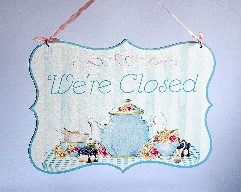 Welcome/Were Closed - o abierto/cerrado, cartel colgante de ...