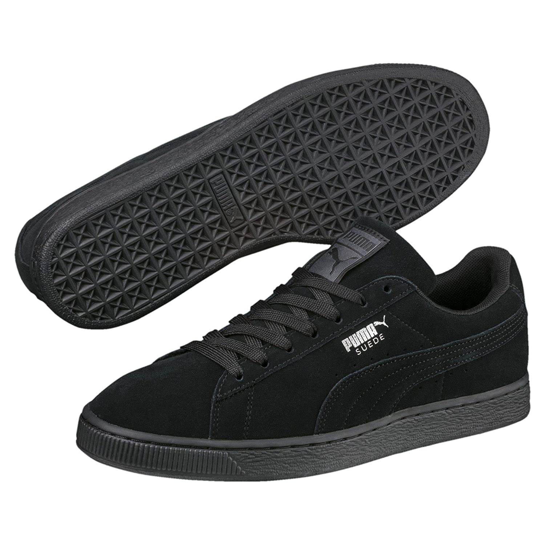 separation shoes cef53 5bf5e Puma Suede Classic +, Unisex Adults' Hi-Top Sneakers, Black, 9 UK