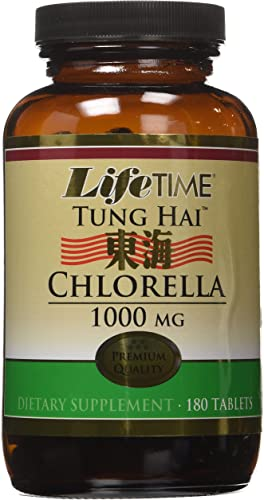 Lifetime Tung Hai Chlorella Tablets, 180 Count