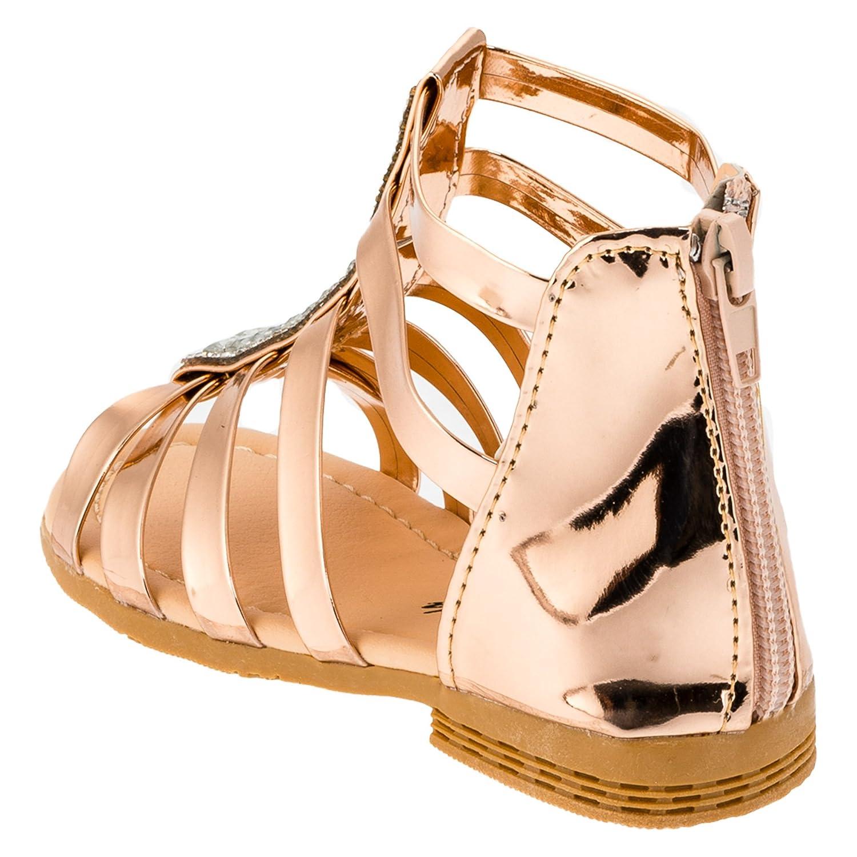 Eva Mode Girls' Fashion Sandals gold #187go Gold: Amazon.co.uk: Shoes & Bags