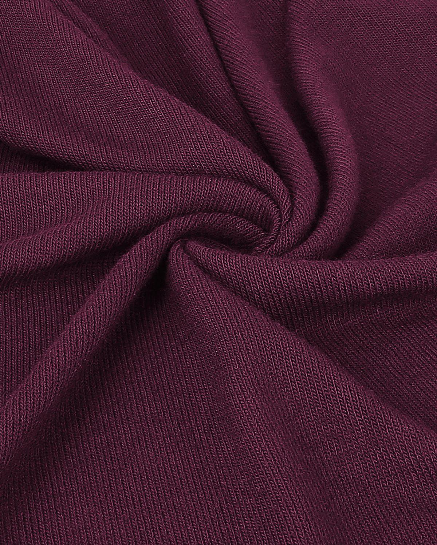 KILIG Womens Long Sleeve Turtleneck Hankerchief Hem Loose Casual Sweater Tunic Tops