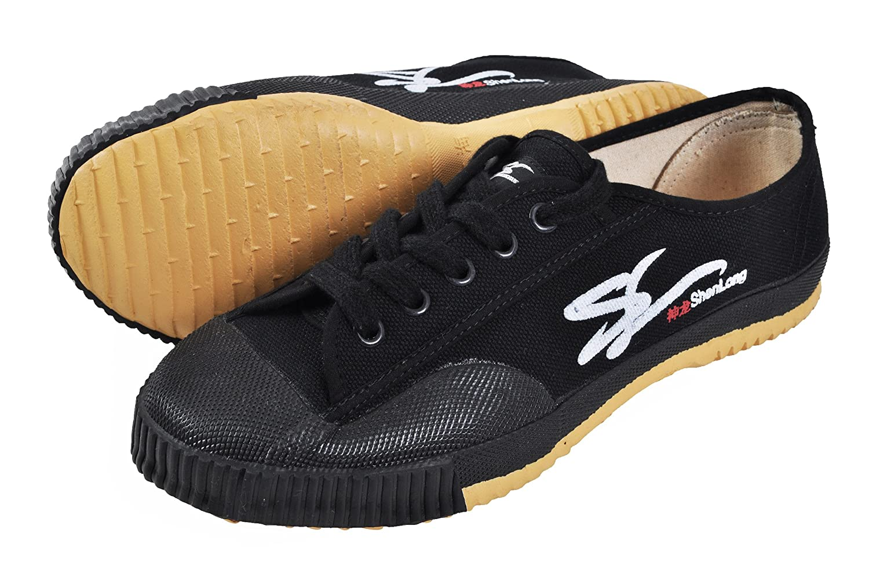 Zapatos de Wushu 'Shen Long', Negro ShenLong