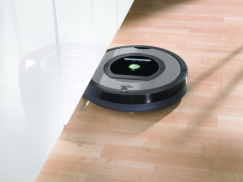 Programable 33 Decibelios iRobot Roomba 772 Robot Aspirador Atrapa el Pelo de Mascotas 33 W Alto Rendimiento de Limpieza Plata