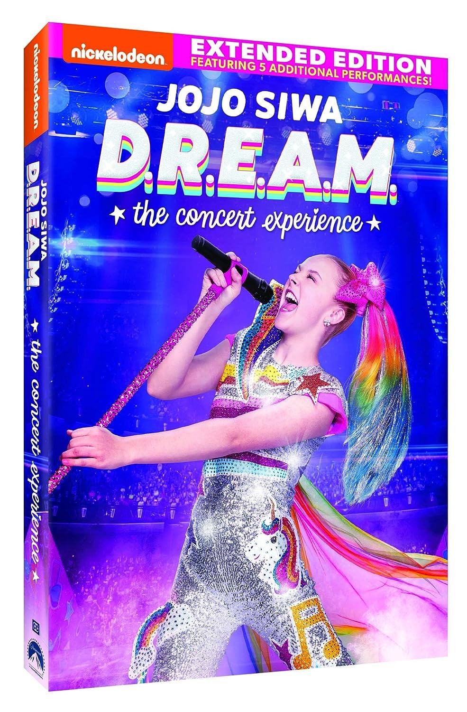 Jojo Siwa D R E A M The Concert Experience Extended Edition Siwa Jojo Movies Tv