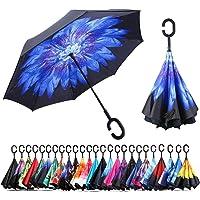 Paraguas a Prueba de Viento y Protector Solar