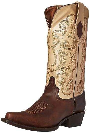 Women's French Calf V-Toe Western Boot