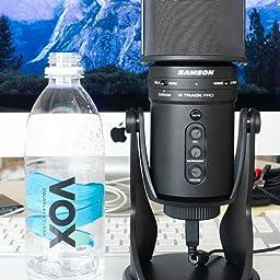 Amazon Co Jp Samson G Track Pro Professional Usb Condenser Microphone Audio Interface Domestic Regular Goods Musical Instruments