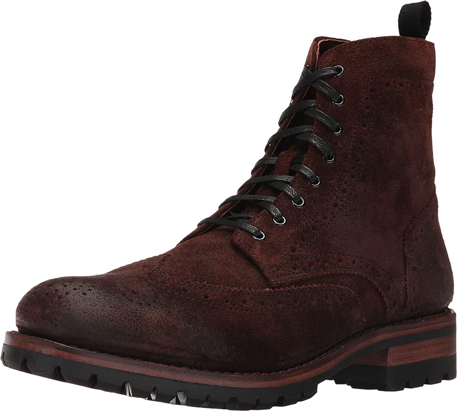 FRYE Men's George Lug Brogue Lace up