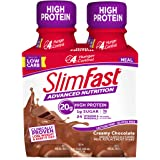 SlimFast Advanced Nutrition Creamy Chocolate Shake – Ready To Drink Meal Replacement – 20g of Protein – 11 Fl. Oz…