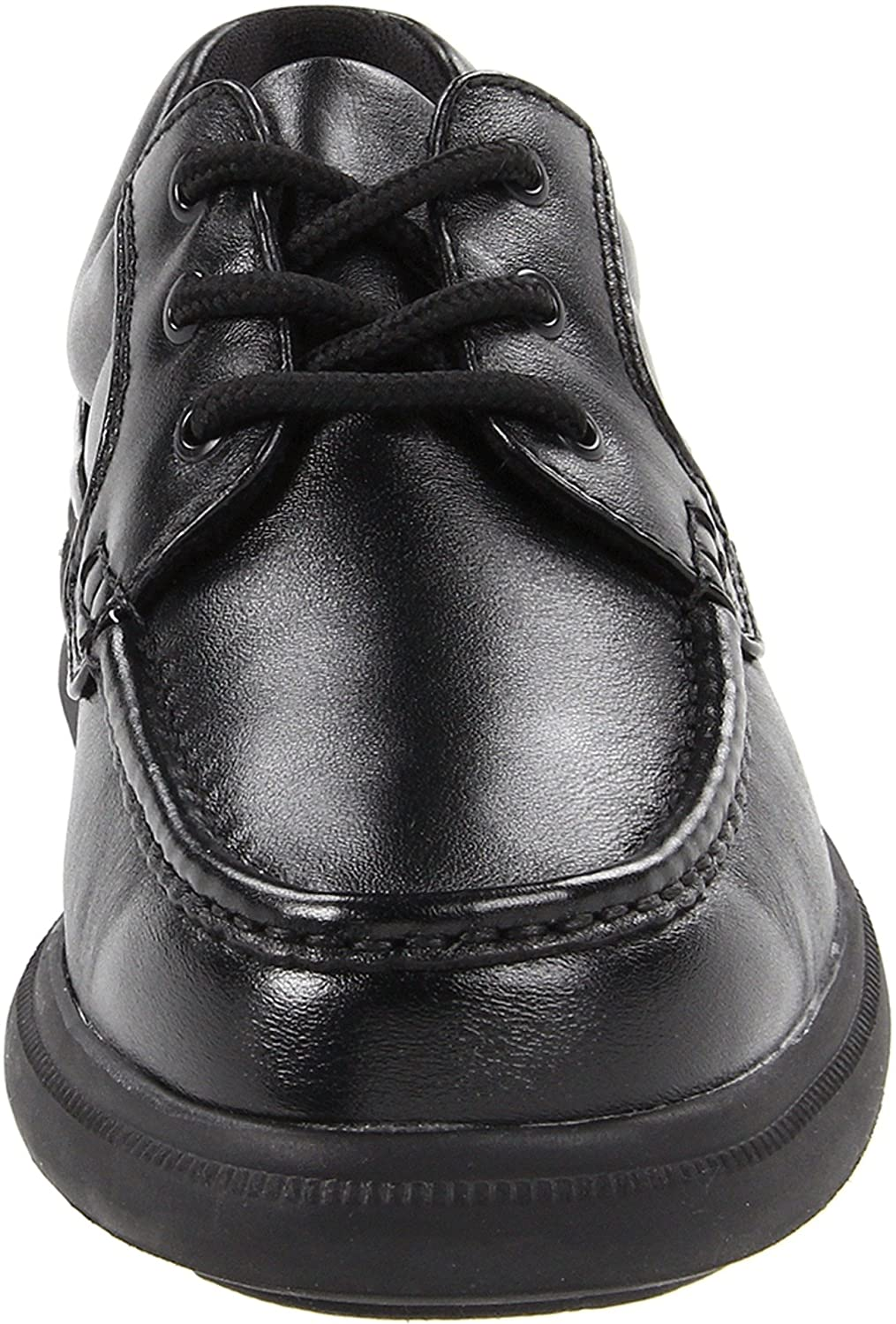 Hush Puppies Men's Gus Oxford B001AWY5N0 12 W US|Black Leather