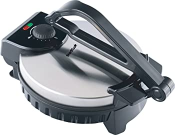 StarBlue Stainless Steel Non-Stick Electric Tortilla Press
