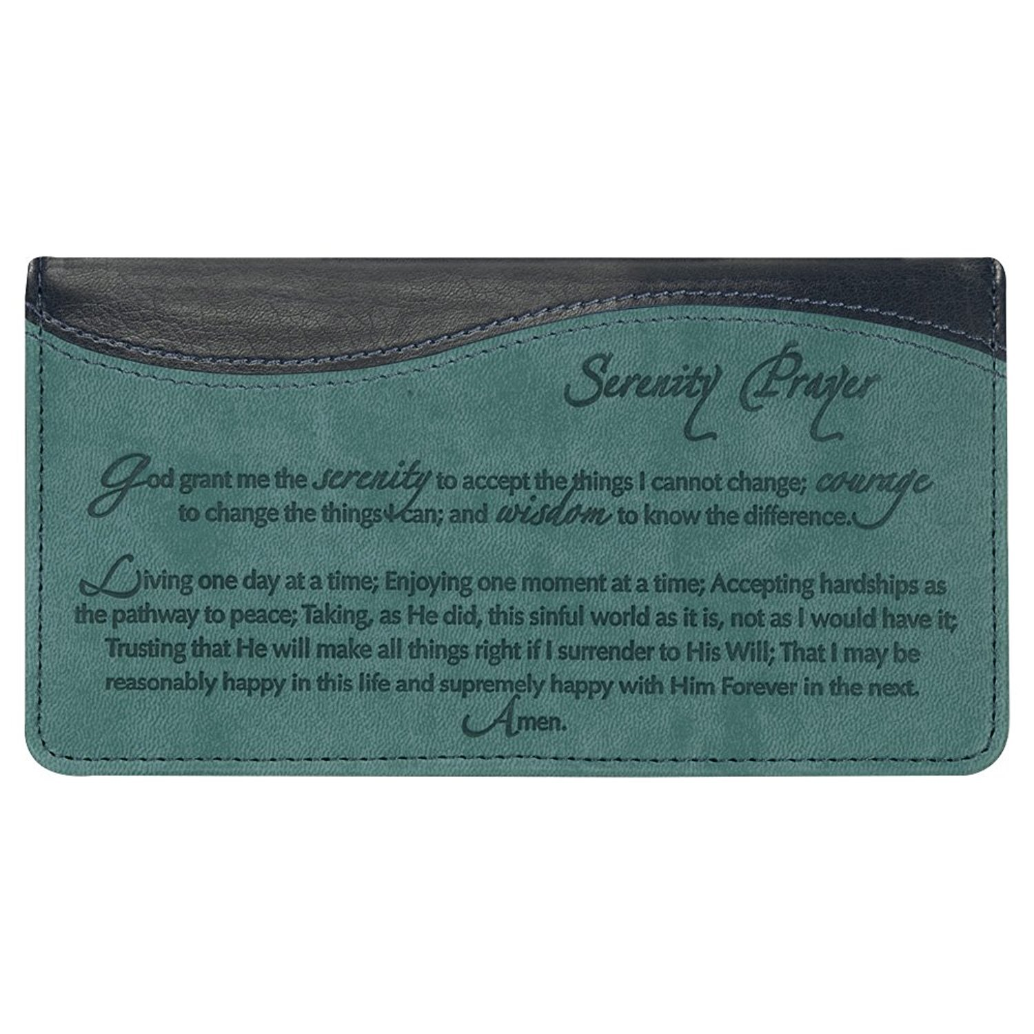 Serenity Prayer Checkbook Cover CHB013
