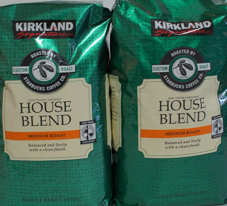 Starbucks Kirkland Signature Medium Roast Coffee Beans Pack of 2 by Kirkland Signature