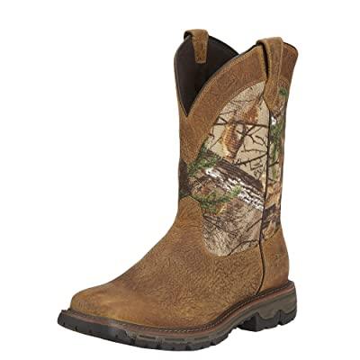 ARIAT Men's Conquest Pull-On Waterproof Hunting Boot | Western