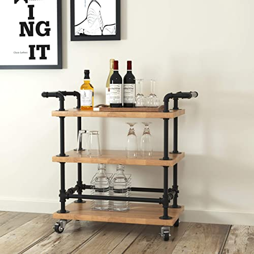 WGX-Design-For-You-Industrial-3-Tiers-Rolling-Carts-Serving-Carts-Kitchen-Carts-Wine-Rack