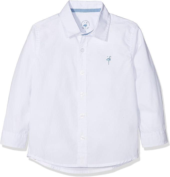 EL FLAMENCO Casual Camisa, Blanco (Blanco 2), 12 años (Tamaño del Fabricante:12) para Niños: Amazon.es: Ropa y accesorios