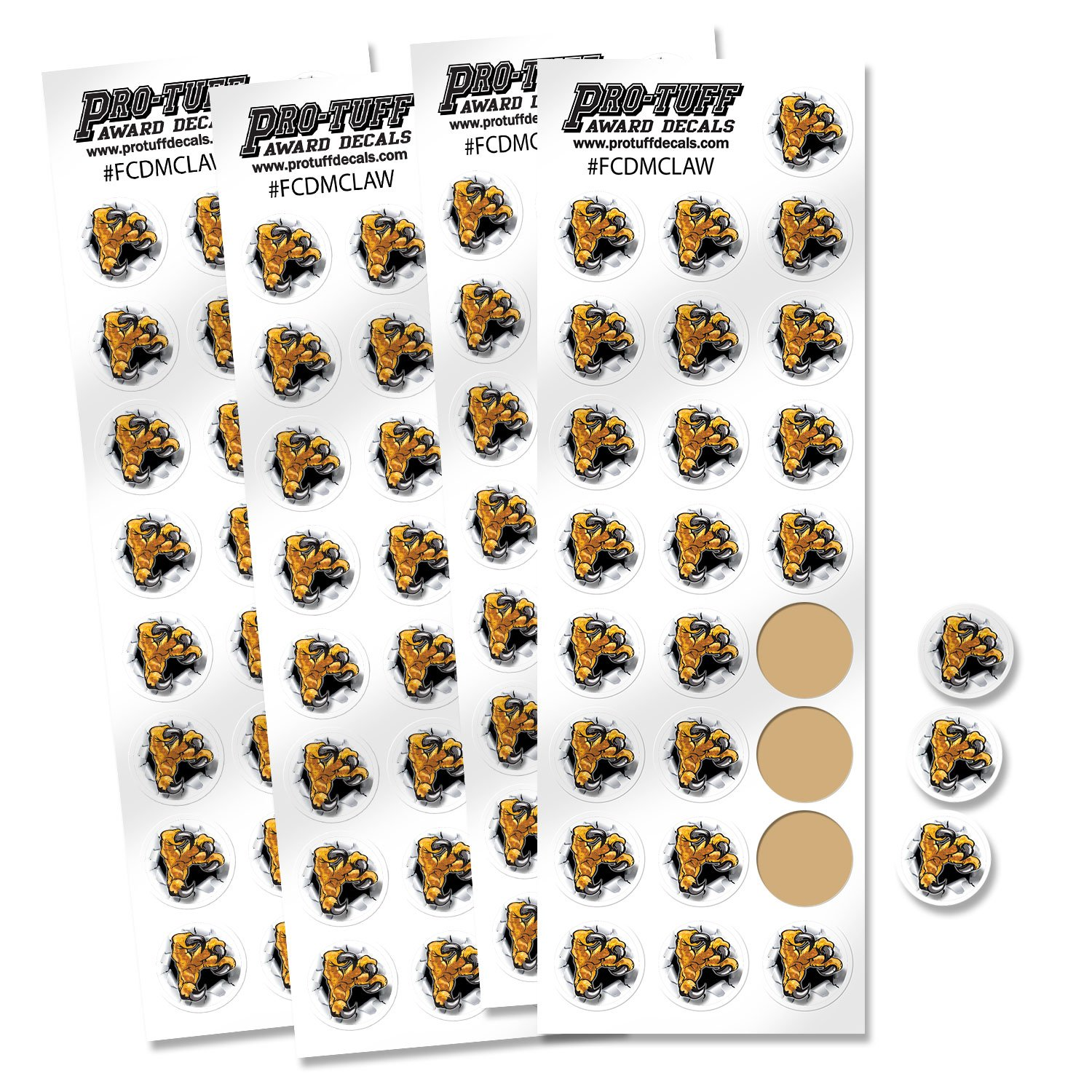 Amazon com pro tuff decals fcmdclaw 50 sports outdoors