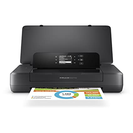 amazon com hp officejet 200 portable printer with wireless mobile