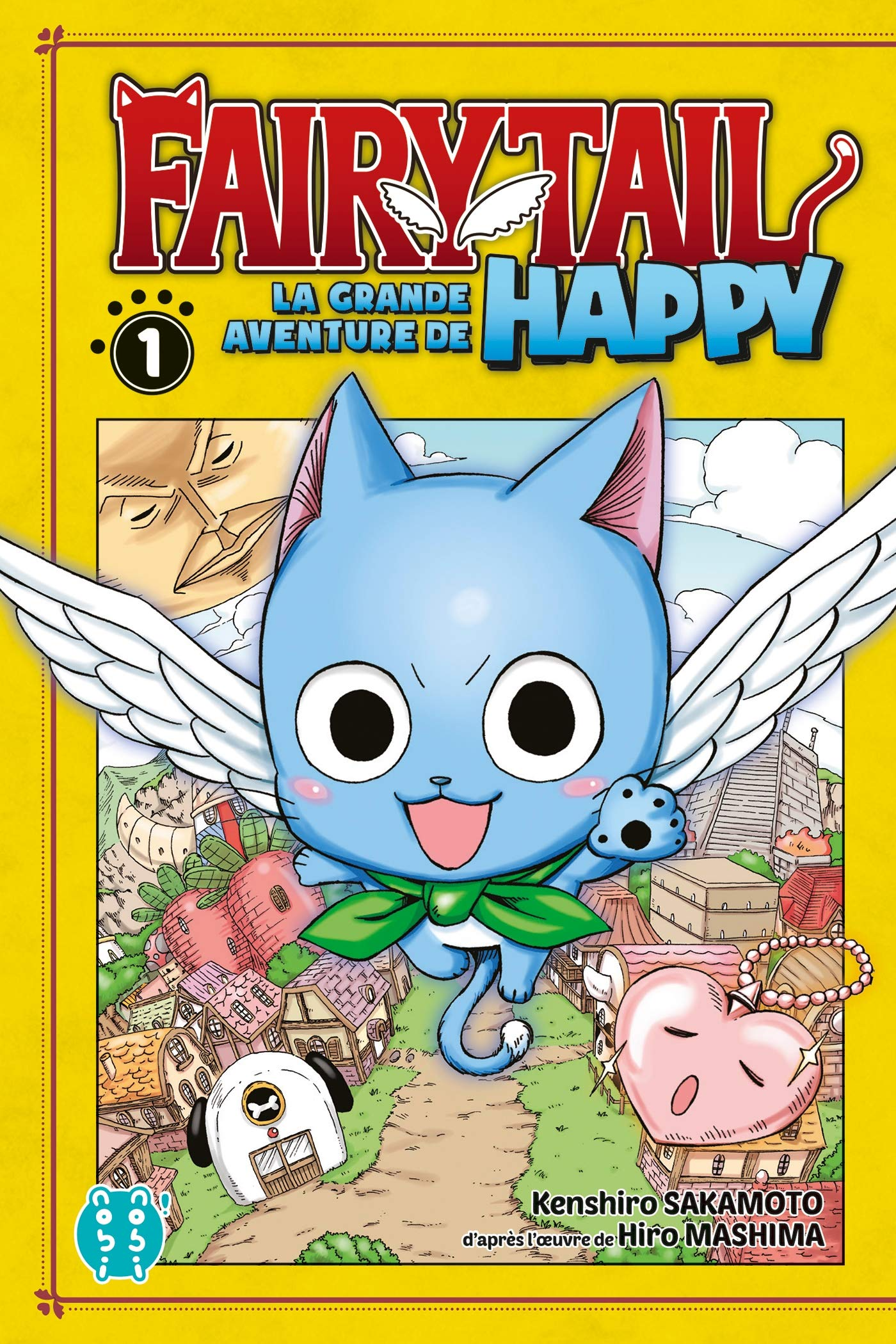 Fairy Tail La Grande Aventure De Happy Tome 1