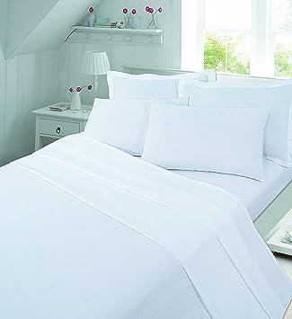 Parure de lit en flanelle avec drap-housse,