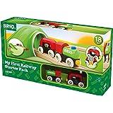 BRIO World 33726 - Mein Erstes BRIO World Bahn Einsteiger Set, Zubehör