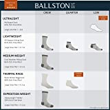Ballston Unisex All Season 81% Merino Wool Low