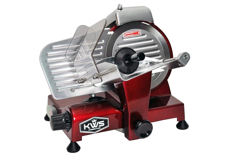 KWS Premium 200w Electric Meat Slicer 6