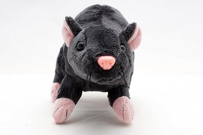 Rat rèmy Gris Souris 29 cm Peluche Rat Souris Peluche de kuscheltiere. Biz: Amazon.es: Juguetes y juegos