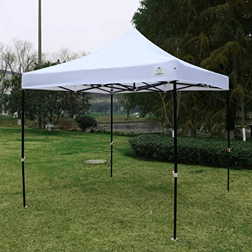 IsagapoY Canopy Tent 10×10 Pop Up Canopy Tent Commercial Instant Shade Tent
