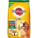 Pedigree Dry Dog Food, Vegetarian for Adult Dogs – 3 kg