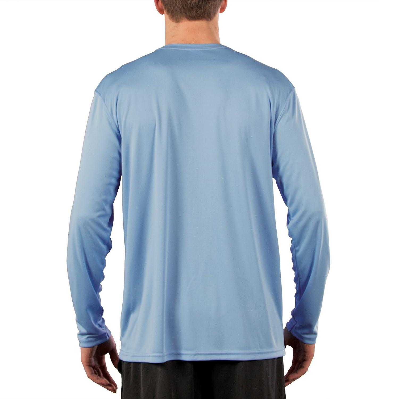 Camiseta de Manga Larga con protecci/ón Solar contra Rayos UV para Hombre Vapor Apparel Factor 50+