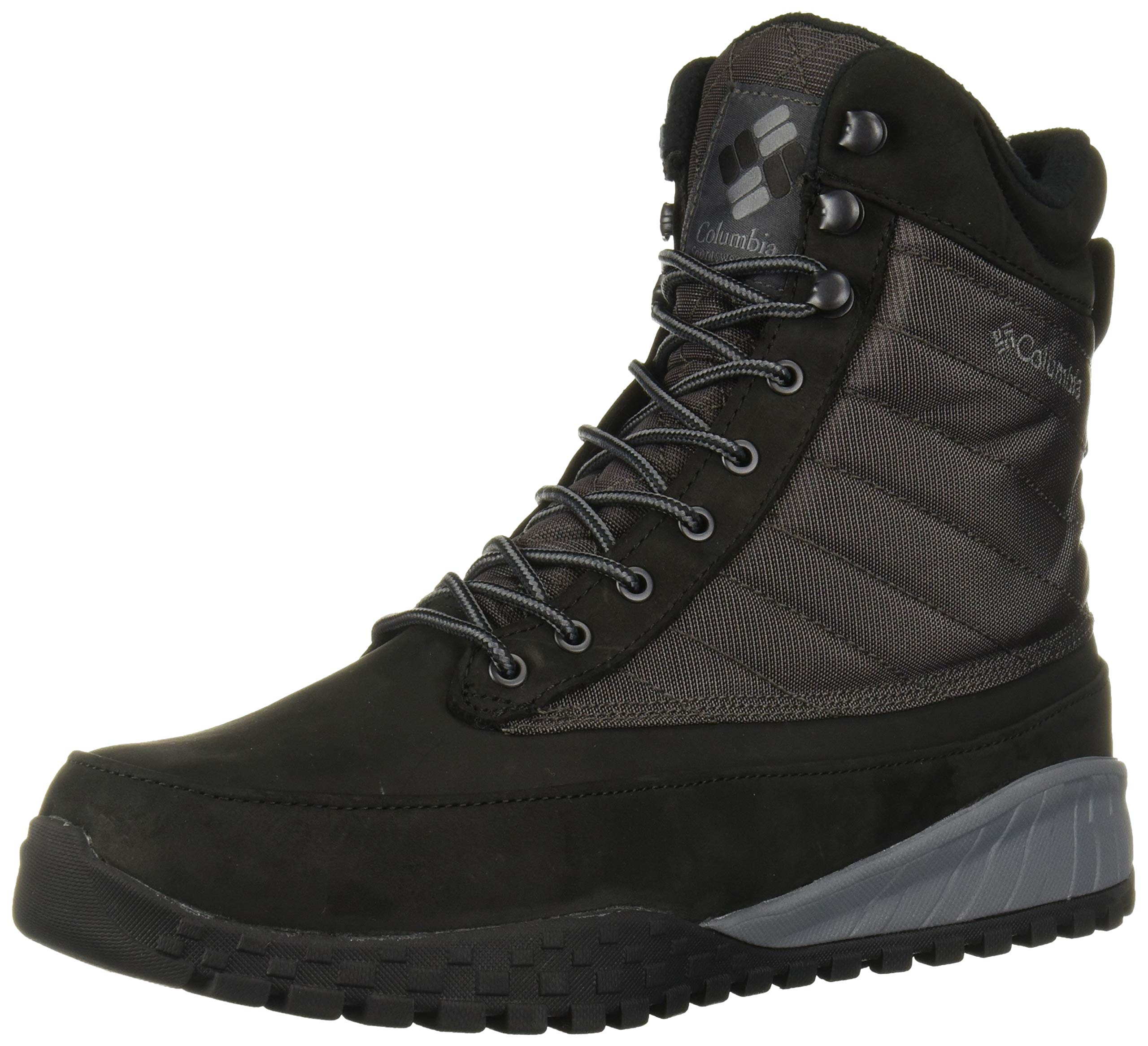 Columbia Men's Fairbanks 1006 Snow Boot, Black, ti Grey Steel, 12 Regular US by Columbia