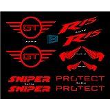 Bikzspare Complete Sticker Kit R15 Limited Edition: Amazon