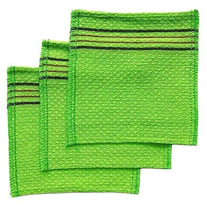 Coreano Exfoliante toalla de baño manopla de Italia (3 unidades) por songwol