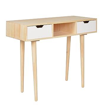 escritorio mesa de trabajo en forma de cubo para saln de diseo retro estantera