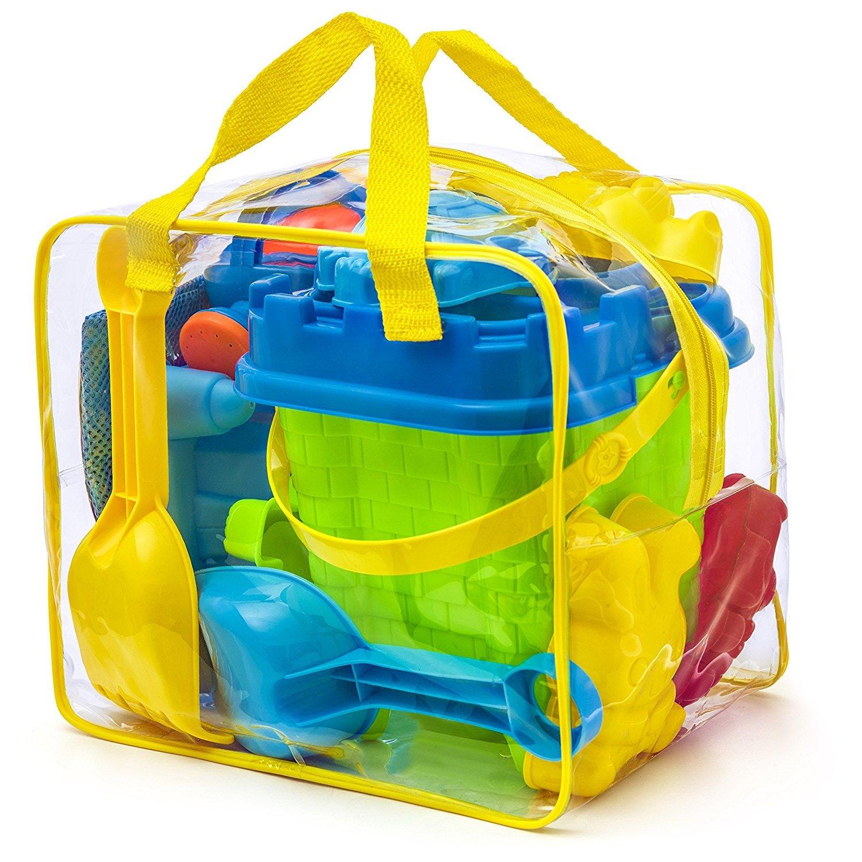 23056bdaf0 Kit de jeu de plage enfant - Sac zippé réutilisable - Coloris Aleatoire  product image