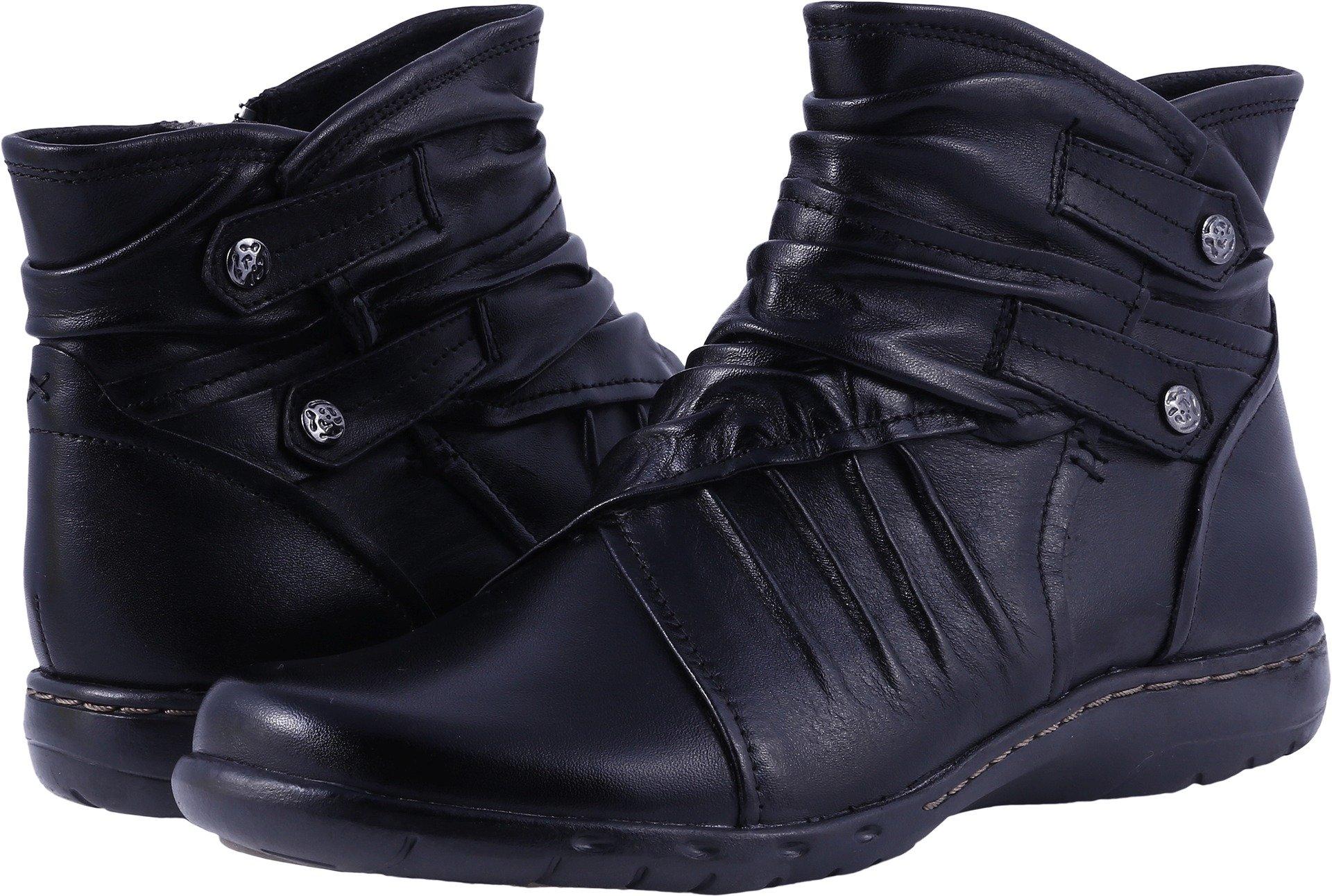 Rockport Cobb Hill Women's Pandora Boot, Black, 6 W US