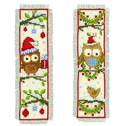 Amazon.com: Vervaco – Kit para cojín de Navidad Marcadores ...