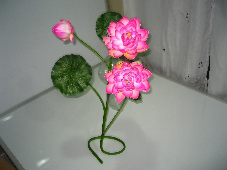 Amazon Plastic Artificial Lotus Flower Stick 40 Long Home