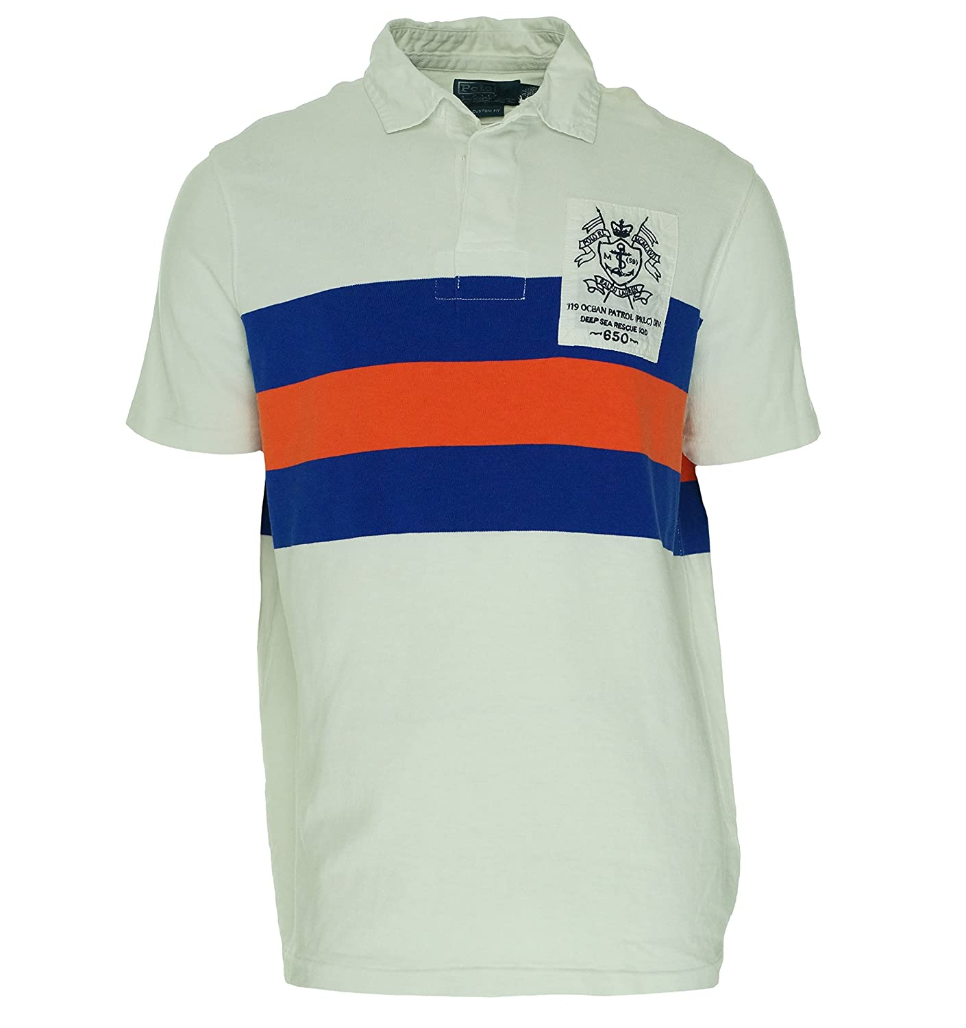 25d92feeee85 Polo Ralph Lauren Mens Custom Fit Knit Rugby Shirt at Amazon Men  s Clothing