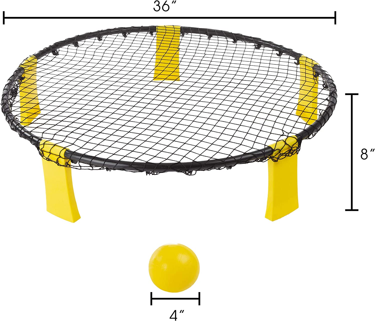 Games 120 mm yellow 50 g HAEST Volley/® Soft Ball