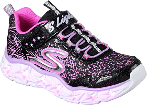Skechers Kinder Low Galaxy Lights 10920L BKMT schwarz 408006