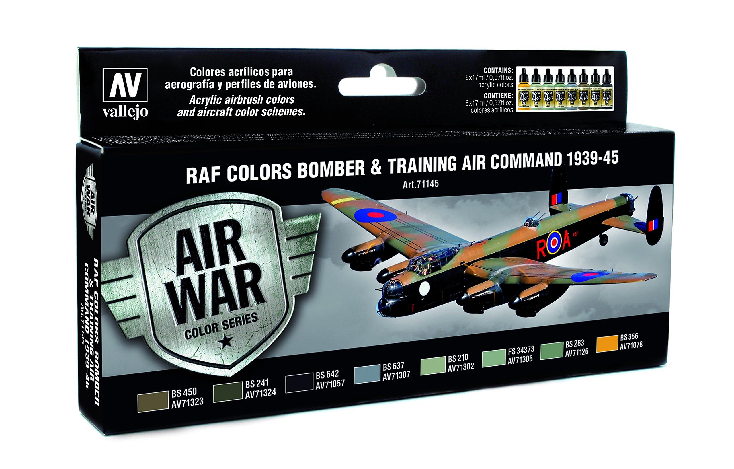 Vallejo RAF Colors Bomber & Training Command 1939-45 Model Paint Kit