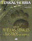 Guia de huellas, señales y rastros de animales (Euskal Herria)