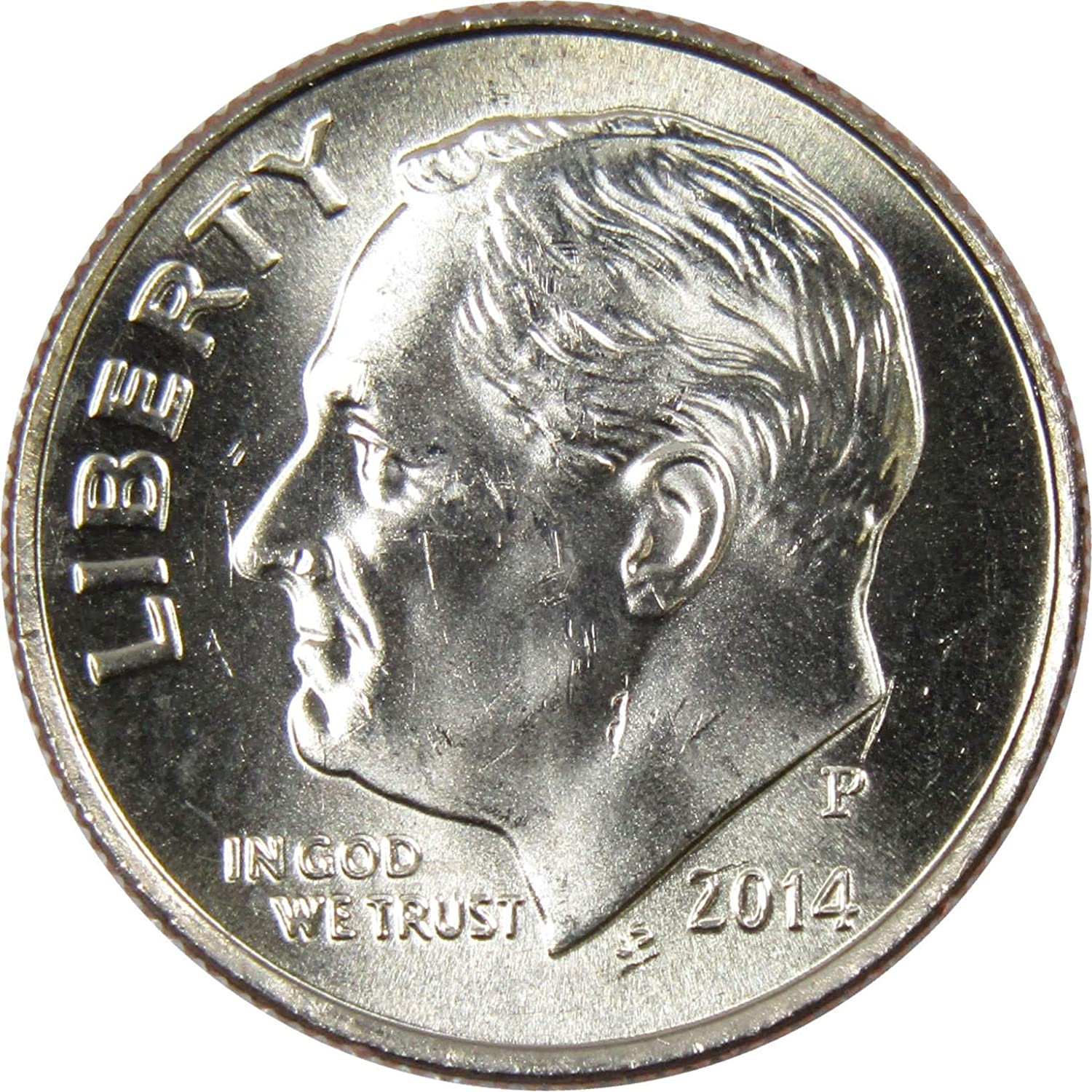 Mint Coin from Bank Roll 2019 P Roosevelt Dime ~ Uncirculated U.S