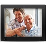 Nix Advance - 12 Zoll Digitaler Bilderrahmen für Fotos und HD-Video (720p) mit Bewegungs-Sensor, für SD und USB, Schwarz - X12D