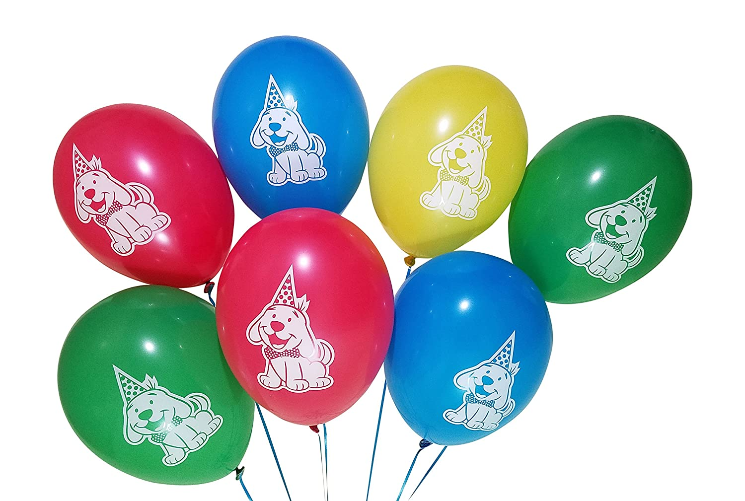Puppy Dog Birthday Party Balloons 25 Pack Blue Red Yellow 3Cats Party Supplies . Green