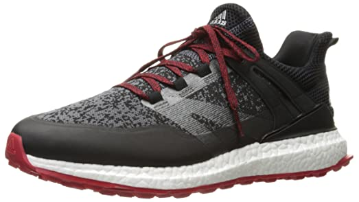 adidas Men's Crossknit Boost Cblack/On Golf Shoe
