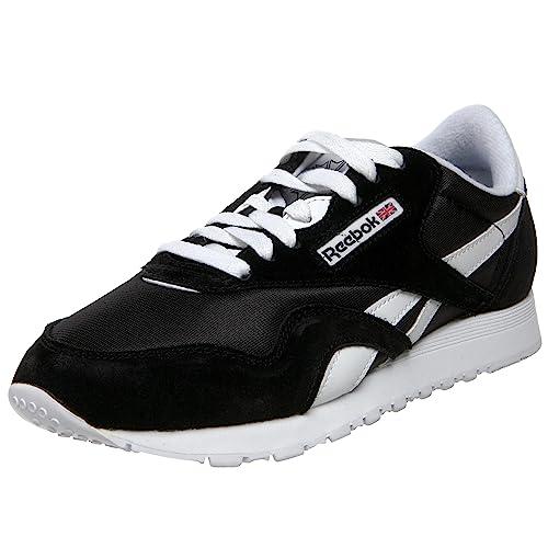 chaussure noir et blanche reebok